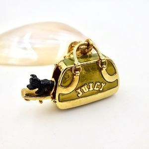 JUICY COUTURE SCOTTY DOG CARRIER CHARM